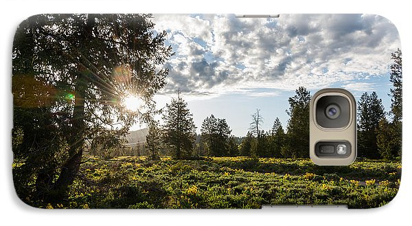 Galaxy Case featuring the photograph Dawn At Pilgrim Creek by Yeates Photography