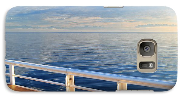 Galaxy Case featuring the photograph Dawn At Sea by Jeanette French
