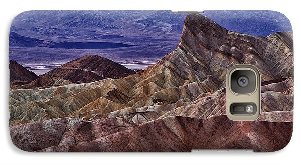 Galaxy Case featuring the photograph Dawn At Zabriskie Point by Jerry Fornarotto