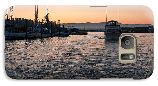 Galaxy Case featuring the photograph Dawn Fishing by Erin Kohlenberg