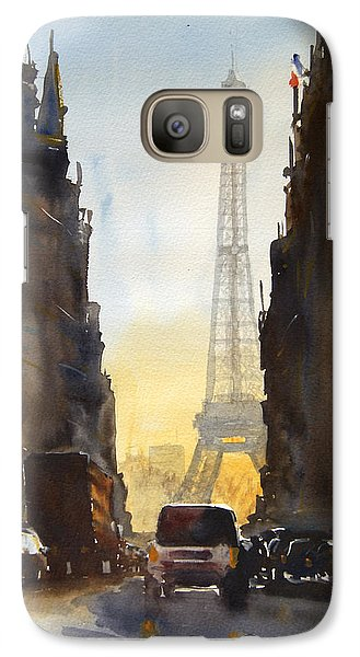Dawn In Paris Galaxy S7 Case