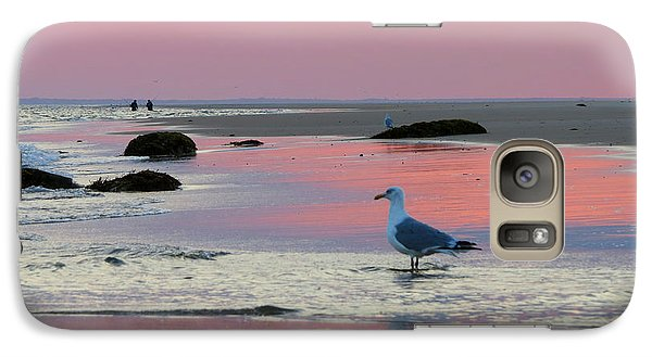 Galaxy Case featuring the photograph Dawn In Pink by Dianne Cowen