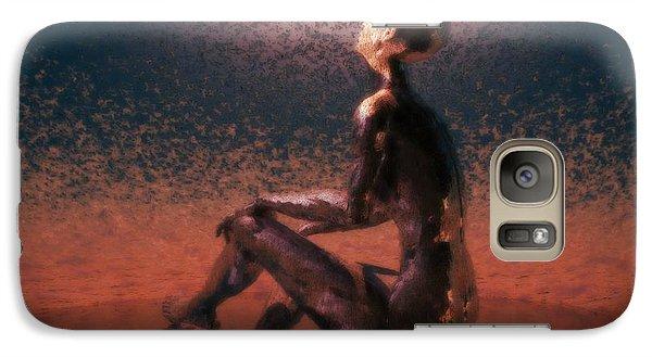 Galaxy Case featuring the digital art Dawn by John Alexander