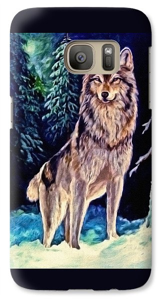 Galaxy Case featuring the painting Dawn Of A New Day Original Painting Forsale by  Nadine Johnston