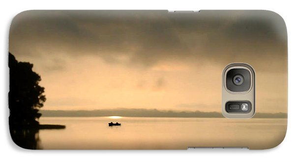 Galaxy Case featuring the photograph Dawn Of A New Day by Peg Urban