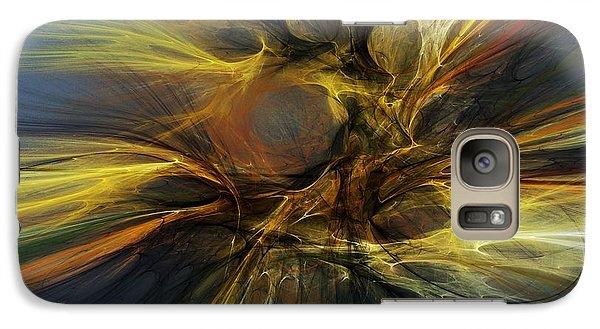 Galaxy Case featuring the digital art Dawn Of Enlightment by David Lane