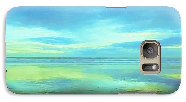 Galaxy Case featuring the painting Dawning Glory by Sophia Schmierer