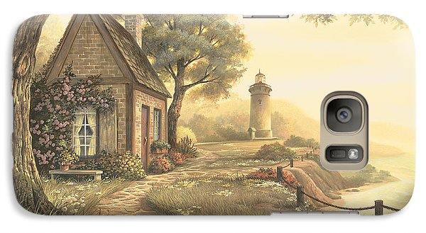 Galaxy Case featuring the painting Dawn's Early Light by Michael Humphries
