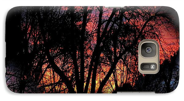 Galaxy Case featuring the photograph Sunrise - Dawn's Early Light by Luther Fine Art