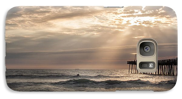 Galaxy Case featuring the photograph Dawns Ocean Rays by Dawn Romine