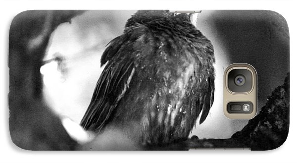 Galaxy Case featuring the photograph Dax's Bird by Tarey Potter