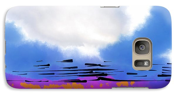Galaxy Case featuring the digital art Day Break by Kirt Tisdale