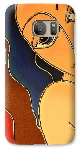 Galaxy Case featuring the painting Day Dream by Cynthia Snyder