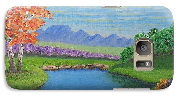Galaxy Case featuring the painting Day Dream by Sheri Keith
