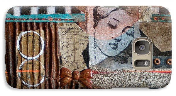 Galaxy Case featuring the mixed media Day Dreams by Sherry Davis