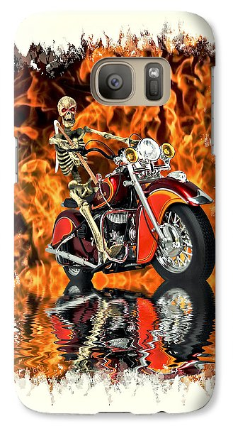 Galaxy Case featuring the photograph Day Of Reckoning by Steven Agius