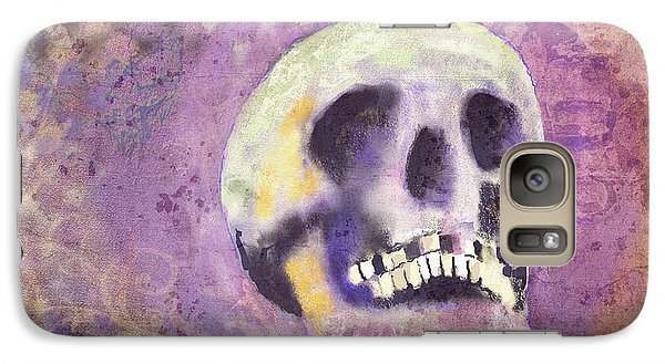 Galaxy Case featuring the digital art Day Of The Dead by Arline Wagner