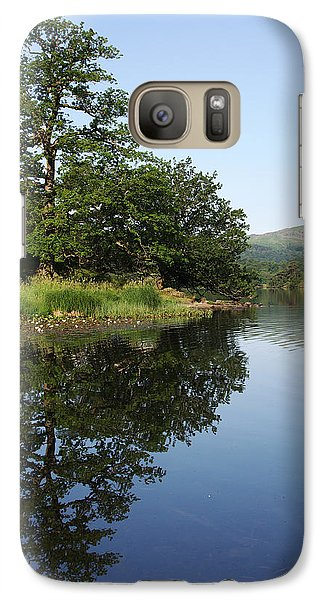 Galaxy Case featuring the photograph Daybreaks At Rydal Water by Graham Hawcroft pixsellpix