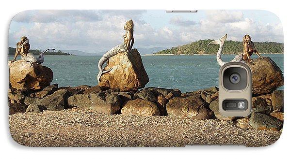 Galaxy Case featuring the photograph Daydream Mermaids by Absinthe Art By Michelle LeAnn Scott