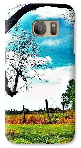 Galaxy Case featuring the photograph Daydreamer by Faith Williams