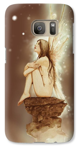 Fantasy Galaxy S7 Case - Daydreaming Faerie by John Silver