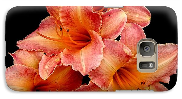 Galaxy Case featuring the photograph Daylilies 2 by Rose Santuci-Sofranko
