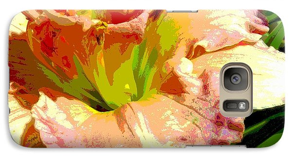 Galaxy Case featuring the photograph Daylily 1 by Sally Simon