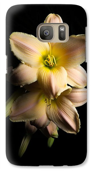 Galaxy Case featuring the photograph Daylily by Anthony Rego