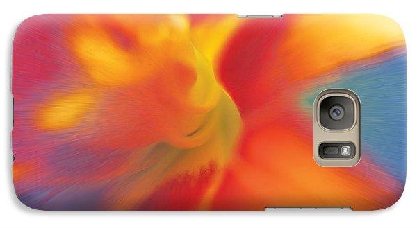 Galaxy Case featuring the digital art Daylily by David Davies