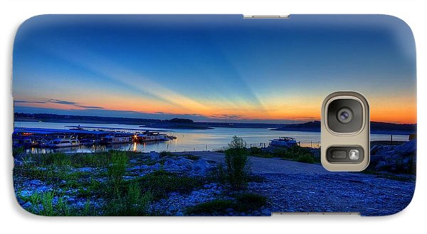 Galaxy Case featuring the photograph Days End by Dave Files