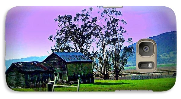 Galaxy Case featuring the photograph Days Gone By by Bobbee Rickard