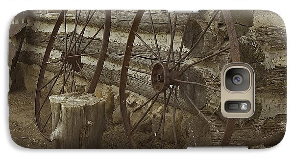 Galaxy Case featuring the photograph Days Gone By by Kathleen Scanlan