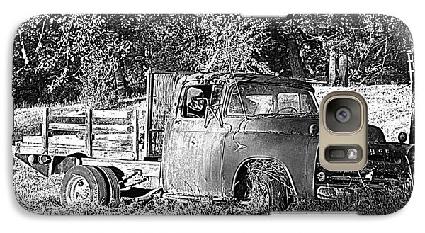 Galaxy Case featuring the photograph Days Gone By by Suzy Piatt
