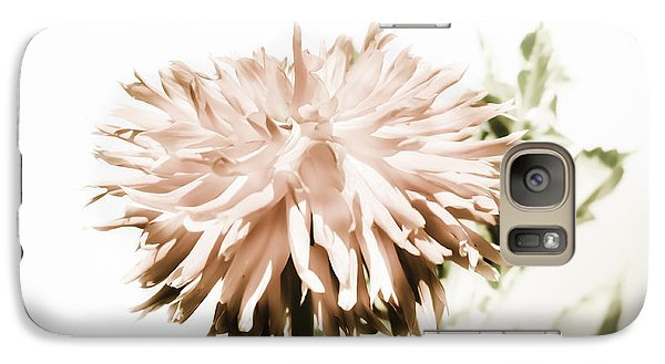 Galaxy Case featuring the photograph Dazzling Dahlia by Sherri Meyer