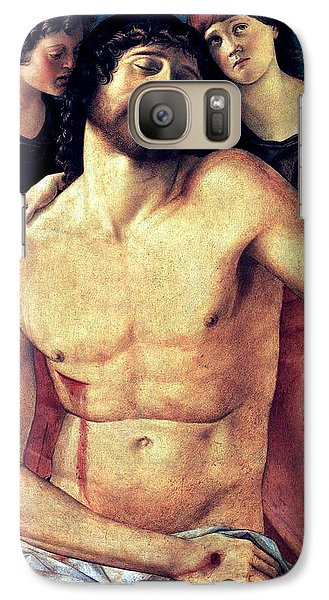 Galaxy Case featuring the painting Dead Christ Supported By Angels 1485 Giovanni Bellini by Karon Melillo DeVega