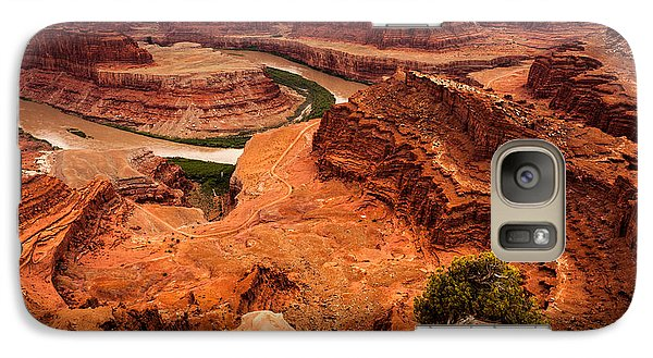 Galaxy Case featuring the photograph Dead Horse Point by Jay Stockhaus