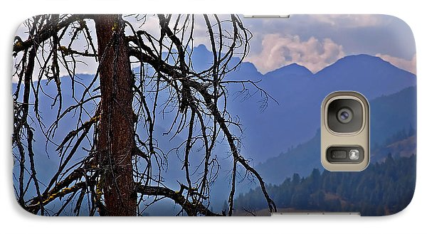 Galaxy Case featuring the photograph Dead Tree Mountains Landscape by Valerie Garner