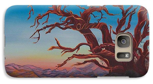 Galaxy Case featuring the painting Dead Tree by Yolanda Raker