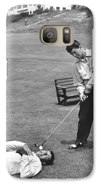 Dean Martin & Jerry Lewis Golf Galaxy S7 Case