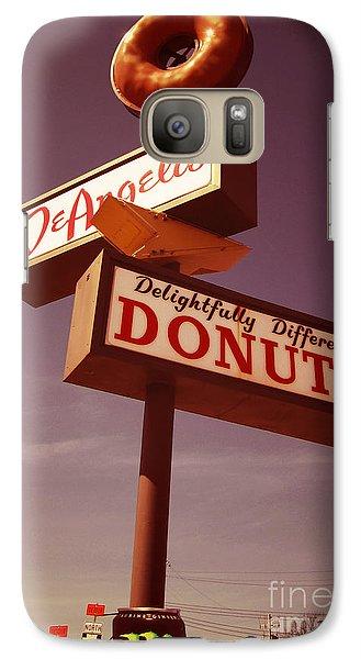 Beaver Galaxy S7 Case - Deangelis Donuts by Jim Zahniser