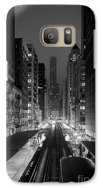 Galaxy Case featuring the photograph Dear Chicago You're Beautiful by Peta Thames