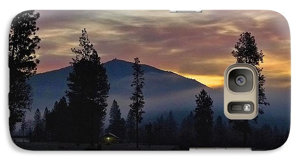 Galaxy Case featuring the photograph December Dawn by Julia Hassett