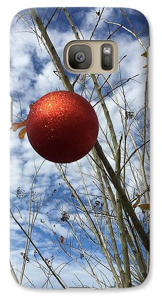 Galaxy Case featuring the photograph December by Jean Marie Maggi