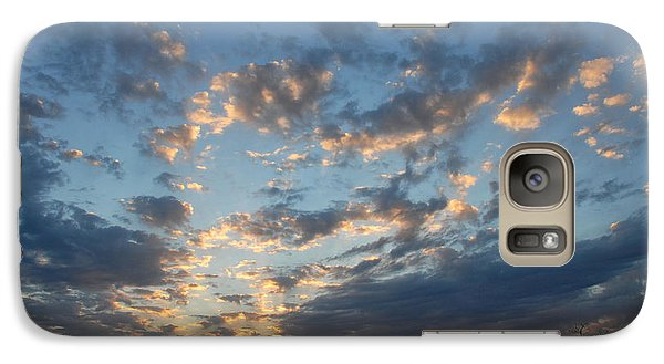Galaxy Case featuring the photograph December Sunset by Susan D Moody