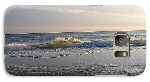 Galaxy Case featuring the photograph December Waves by Michele Kaiser