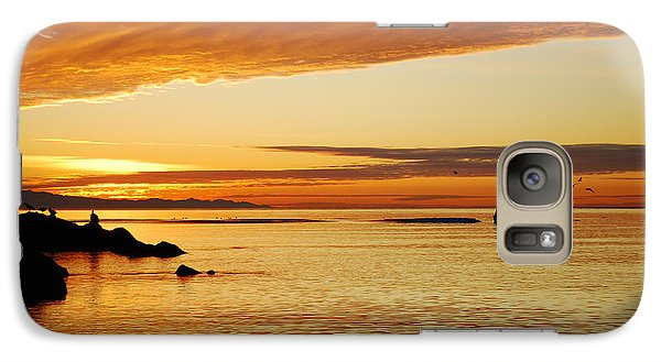 Galaxy Case featuring the photograph Deception Pass by Kjirsten Collier