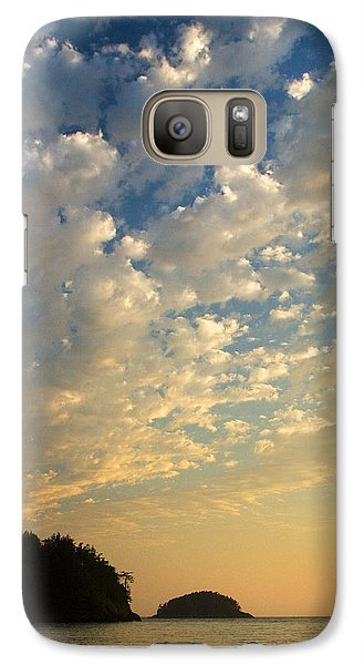 Galaxy Case featuring the photograph Deception Pass by Sonya Lang