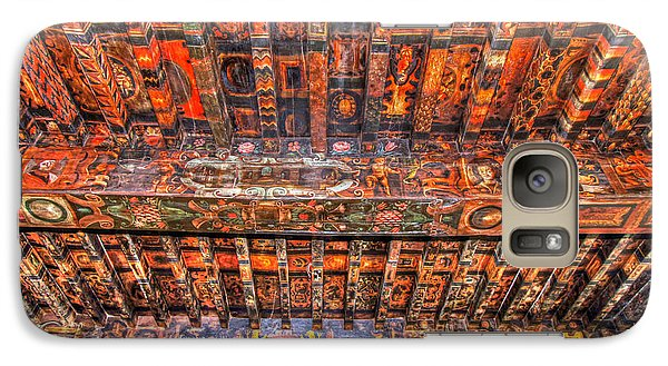 Galaxy Case featuring the photograph Decorated Ceiling by Rod Jones