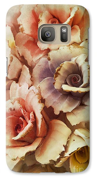 Galaxy Case featuring the photograph Decoration Flower by Mohamed Elkhamisy