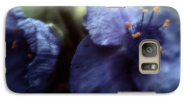 Galaxy Case featuring the photograph Deep Blue by Louise Kumpf